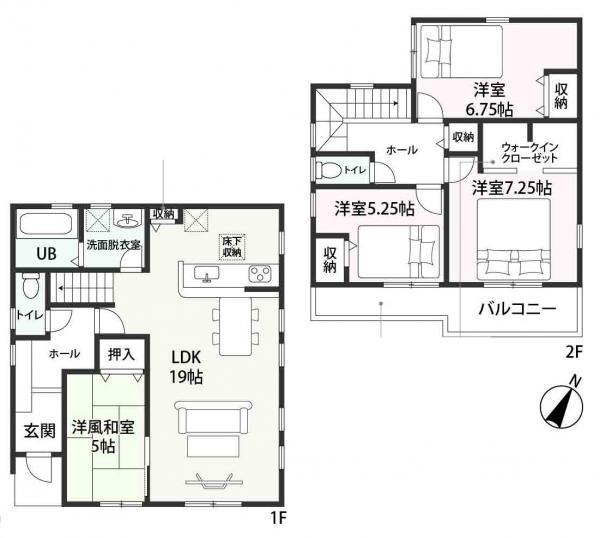 新築一戸建て 津島市中一色町市場61番 関西本線永和駅 2180万円