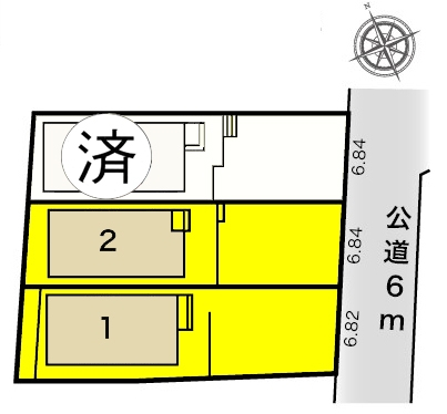 新築一戸建て 大府市共西町6丁目155他 JR東海道本線(熱海〜米原)共和駅 3780万円