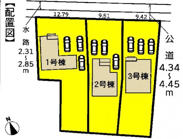 新築一戸建て 愛西市東條町五反田3 名鉄尾西線佐屋駅 2480万円