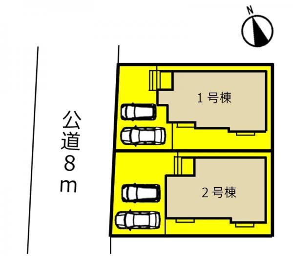 新築一戸建て 春日井市石尾台2丁目14-6 JR中央本線高蔵寺駅 2590万円