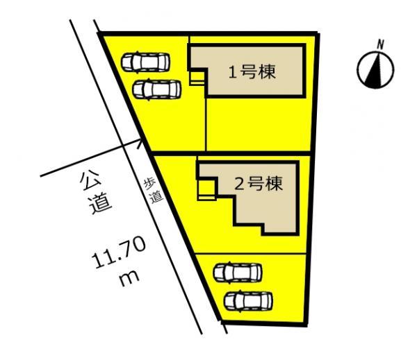 新築一戸建て 可児市土田字富士ノ井1760-194他 名鉄広見線可児川駅 2180万円