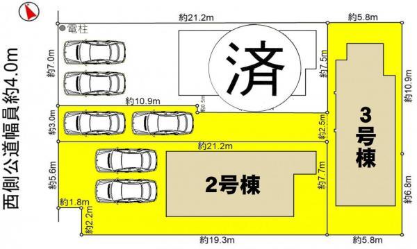 新築一戸建て 西尾市熊味町珠弥堂 名鉄西尾線西尾口駅 3190万円