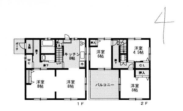 中古一戸建て 津島市中一色町弥六山112 名鉄尾西線日比野駅 1449万円