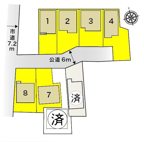 新築一戸建て 愛西市西川端町一本松 名鉄尾西線渕高駅 2380万円
