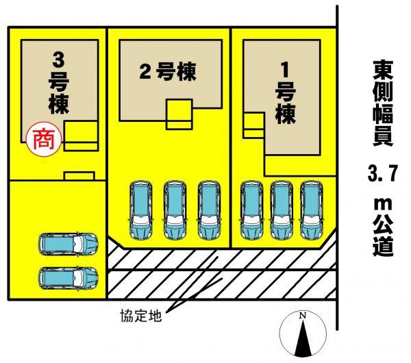 新築一戸建て 西尾市一色町対米中野 名鉄西尾線吉良吉田駅 2290万円
