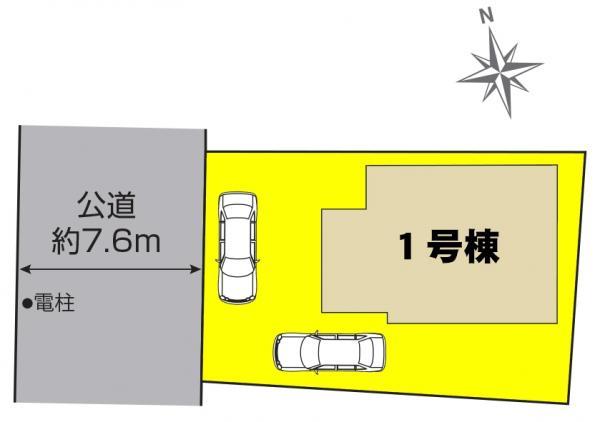 新築一戸建て 岡崎市鴨田町字池内75-6 愛知環状鉄道大門駅 3990万円