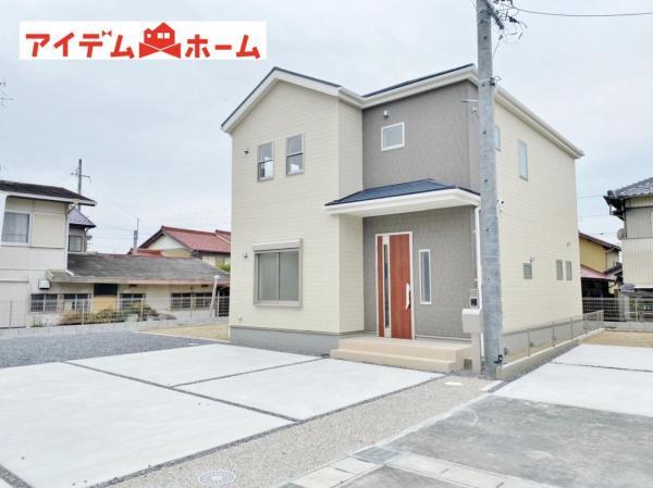 新築一戸建て 稲沢市平和町下起北63番5 名鉄尾西線渕高駅 2480万円