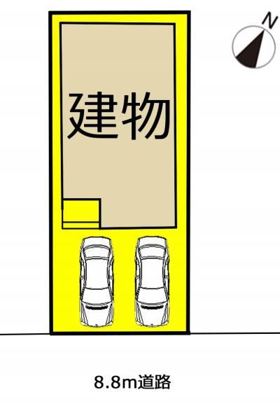 新築一戸建て 瀬戸市新郷町93 愛知環状鉄道瀬戸口駅 2190万円