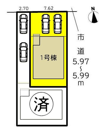 新築一戸建て 名古屋市中川区七反田町 関西本線春田駅 3190万円