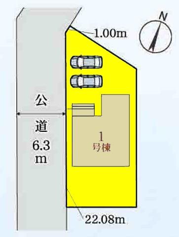 新築一戸建て 津島市中一色町柳原 関西本線永和駅 2580万円