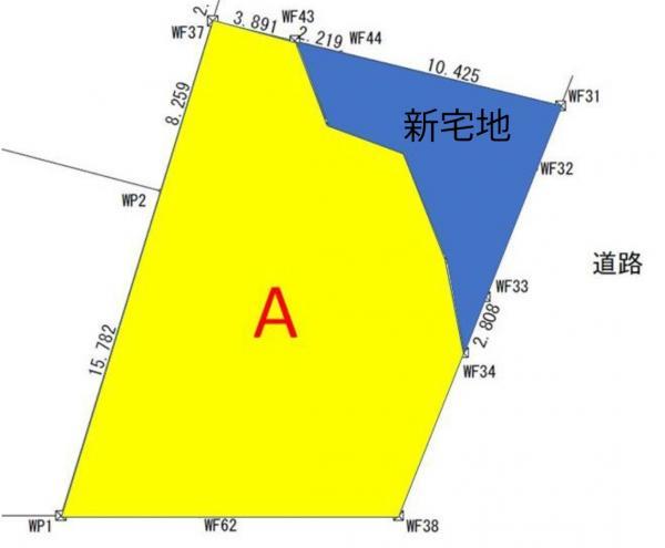 土地 西尾市上町猿ケ坂 名鉄西尾線西尾駅 2400万円