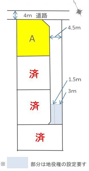 土地 碧南市福清水町4丁目 名鉄三河線碧南中央駅 2033万円