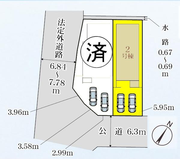 新築一戸建て 弥富市小島町下新田 関西本線弥富駅 2480万円