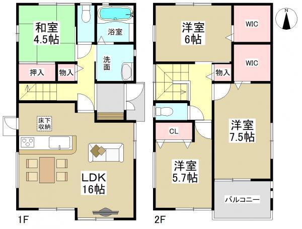 新築一戸建て 名古屋市天白区平針南3丁目406番 名古屋市鶴舞線平針駅 3990万円