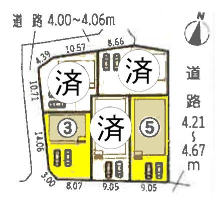 新築一戸建て 津島市鹿伏兎町西 関西本線永和駅 2190万円