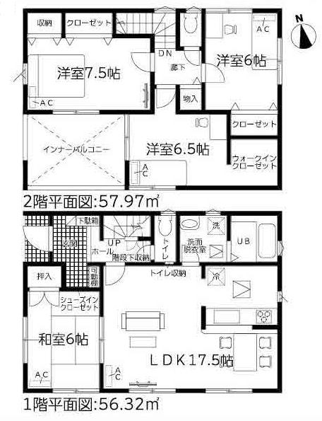 新築一戸建て 西尾市一色町松木島宮東 名鉄西尾線吉良吉田駅 2190万円