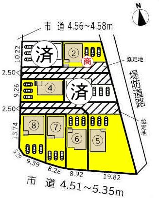 新築一戸建て 西尾市一色町松木島宮東 名鉄西尾線吉良吉田駅 1990万円