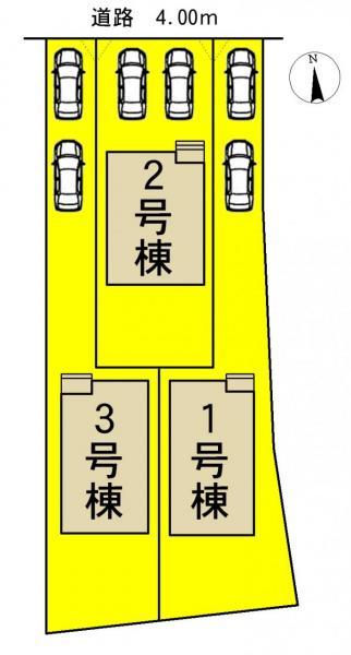 新築一戸建て 名古屋市西区城町169番の一部 名古屋市鶴舞線上小田井駅 3690万円