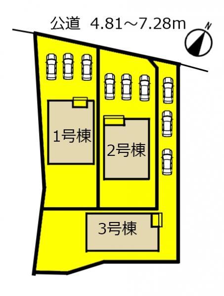 新築一戸建て 浜松市東区材木町 JR東海道本線(熱海〜米原)浜松駅 2690万円