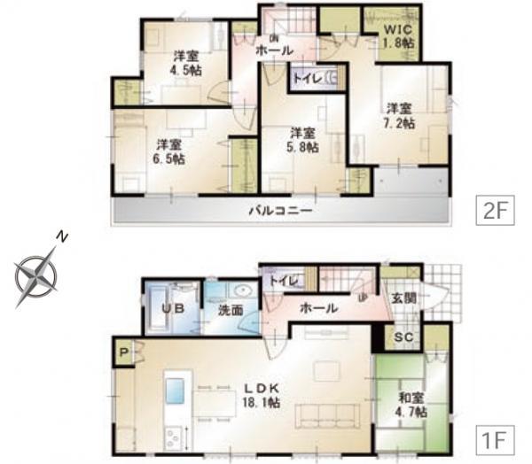 新築一戸建て 浜松市中区富塚町  3380万円