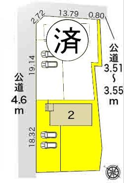 新築一戸建て 愛西市二子町新田 名鉄尾西線渕高駅 2280万円