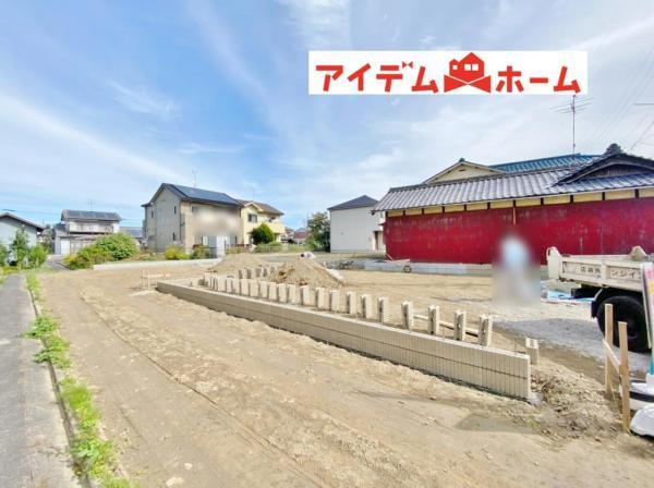 新築一戸建て 稲沢市祖父江町森上44番 名鉄尾西線森上駅 2480万円
