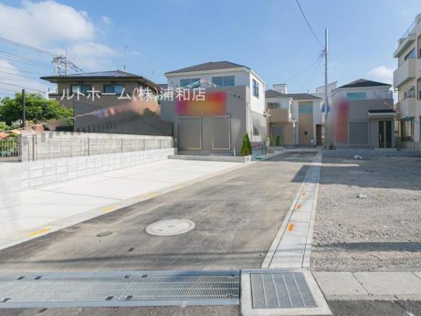 新築戸建 川口市在家町1-24 JR武蔵野線東浦和駅 3090万円~3690万円