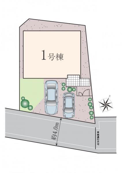 新築戸建 世田谷区上祖師谷2丁目 京王線千歳烏山駅 7890万円