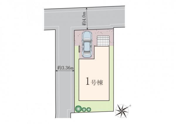 新築戸建 横浜市神奈川区白幡西町 東急東横線東白楽駅 5880万円
