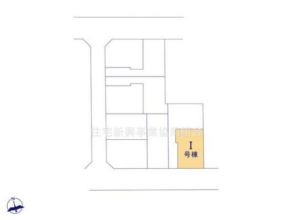 新築戸建 板橋区高島平4丁目9 都営三田線新高島平駅 4880万円