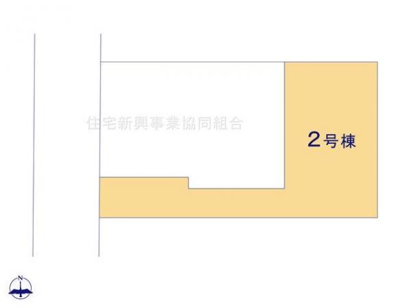 新築戸建 東久留米市前沢3丁目1221-11 西武新宿線花小金井駅 3380万円
