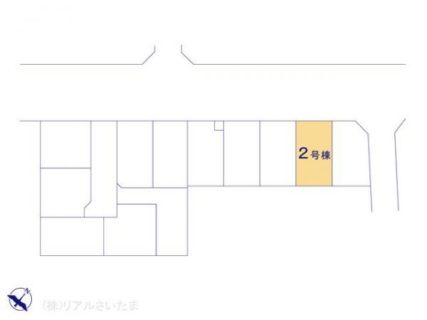 新築戸建 埼玉県上尾市浅間台3丁目19-2 JR高崎線北上尾駅 3090万円