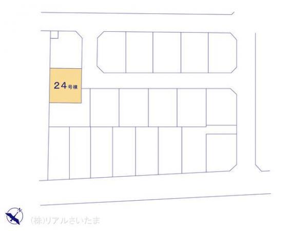 新築戸建 埼玉県上尾市浅間台3丁目19-2 JR高崎線北上尾駅 3890万円