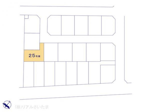 新築戸建 埼玉県上尾市浅間台3丁目19-2 JR高崎線北上尾駅 3790万円
