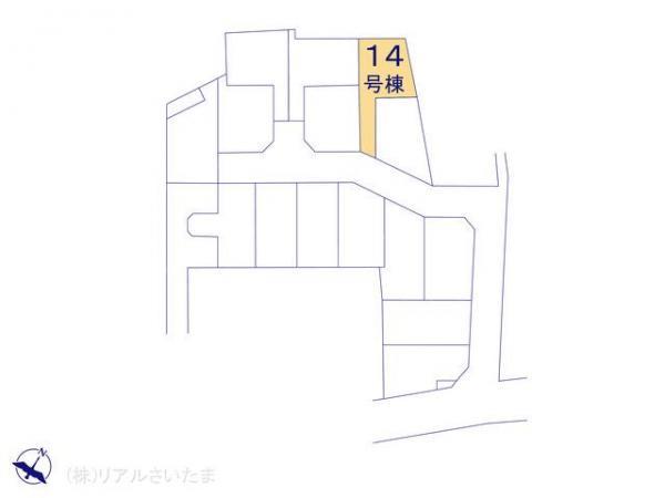 新築戸建 埼玉県上尾市大字上1451-1 JR高崎線桶川駅 2490万円