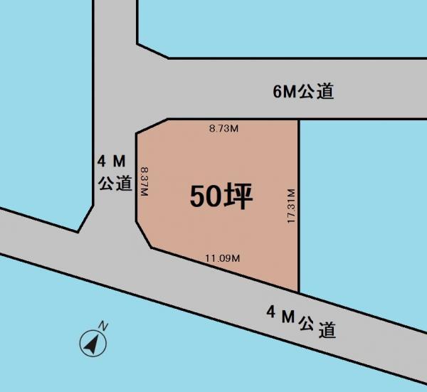 土地 さいたま市見沼区大字小深作400-25 東武野田線七里駅 1980万円