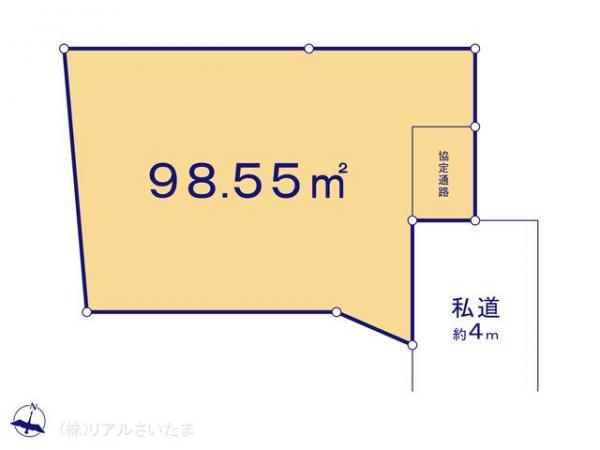土地 埼玉県川口市大字神戸586-2 JR武蔵野線東浦和駅 1154万円