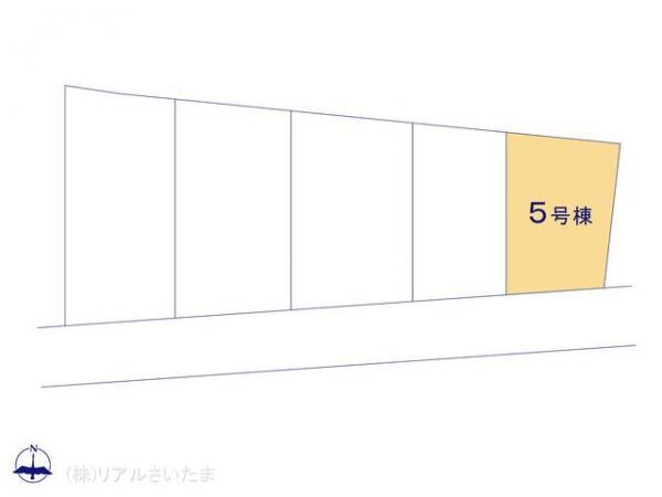 新築戸建 埼玉県さいたま市浦和区大東3丁目16-9 JR京浜東北線北浦和駅 3398万円