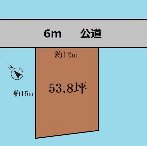 土地 さいたま市岩槻区府内1丁目 東武野田線岩槻駅 1615万円