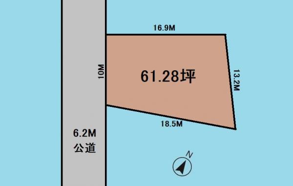 土地 さいたま市岩槻区大字徳力 東武野田線東岩槻駅 1800万円