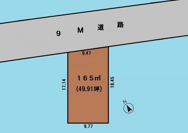土地 さいたま市岩槻区大字平林寺 東武野田線岩槻駅 980万円