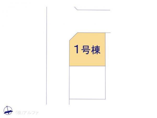 新築戸建 東京都板橋区高島平5丁目35-7 都営三田線西高島平駅 4180万円