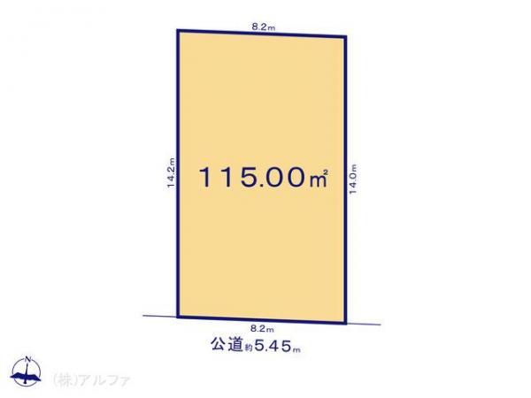 土地 東京都杉並区本天沼3丁目39 JR中央線荻窪駅 5680万円