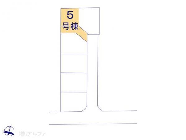 新築戸建 東京都杉並区井草5丁目17 西武新宿線上井草駅駅 5990万円