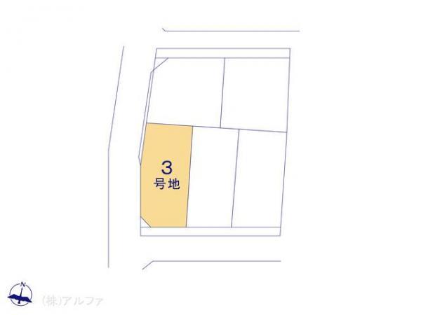土地 東京都中野区野方1丁目24 JR中央線中野駅 5550万円