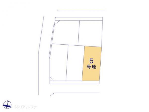 土地 東京都中野区野方1丁目24 JR中央線中野駅 5450万円