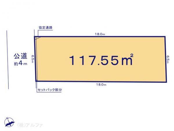 土地 東京都杉並区宮前3丁目9-12 JR中央線西荻窪駅 6750万円