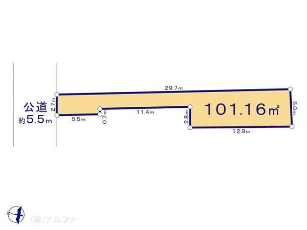 土地 東京都練馬区春日町4丁目17 都営大江戸線練馬春日町駅駅 4000万円