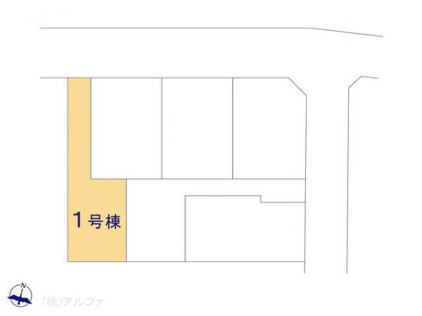 新築戸建 東京都練馬区石神井台8丁目5 西武新宿線武蔵関駅駅 5080万円