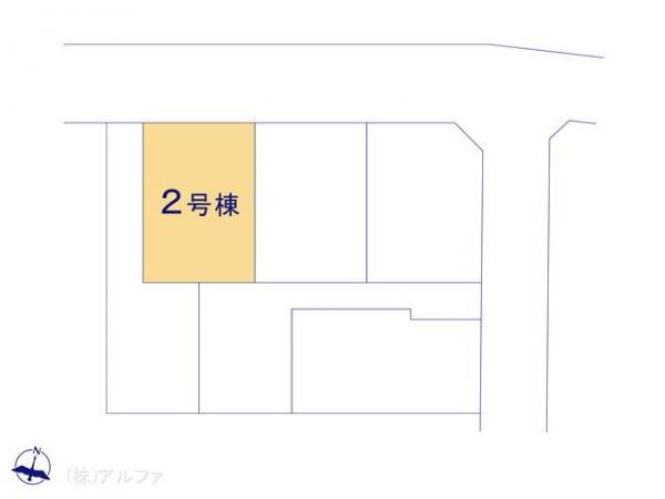 新築戸建 東京都練馬区石神井台8丁目5 西武新宿線武蔵関駅 5180万円